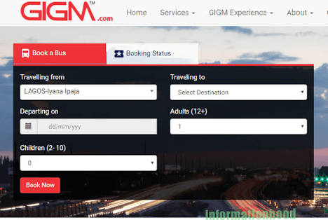 God is Good Motors Online Booking: How to Book Ticket Online