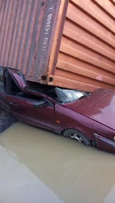 A Driver Escapes Death in Portharcourt