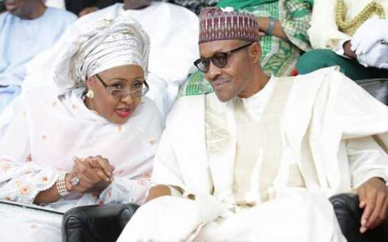 The Wife of the President, Aisha Goes To London To Bring Back Her Husband