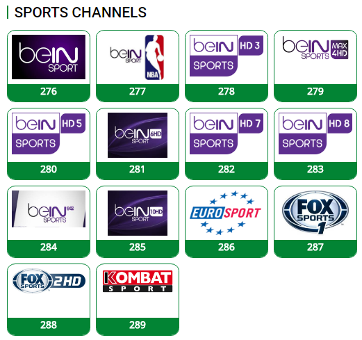 TStv Channels List (Sport, Movies, Entertainment, Music and More)