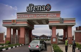 Price of shop Nigerian Army Shopping Arena