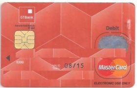 GTbank ATM card