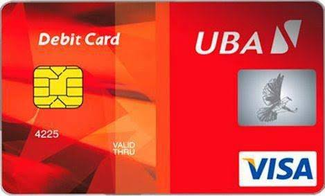 cost of uba new atm card
