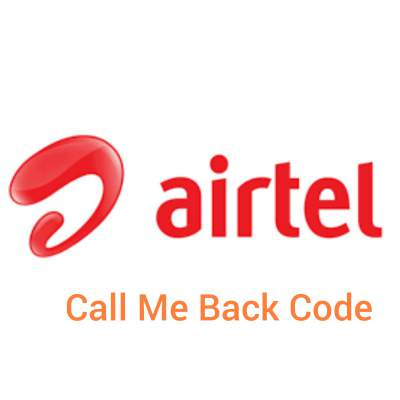 Airtel please call me back code