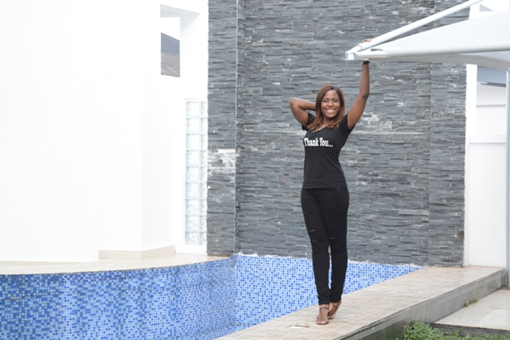 Linda ikeji and her house