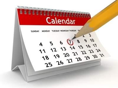 Calendar - Office equipment's