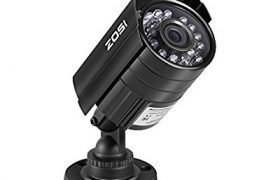 ZOSI HD 800TVL 24PCS IR-LEDs 3.6mm lens CCTV Camera